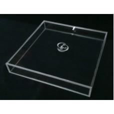 Κουτί 20 Χ 20 Χ 5 εκ. με καπάκι συρταρωτό από Plexiglass-Πλεξιγκλας