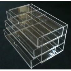Συρταριέρα 33 Χ 16 Χ 18 εκ. από Plexiglass-Πλεξιγκλας