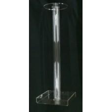 8-4Z5 : ύψος 60 εκ. Κολώνα από Plexiglass-Πλεξιγκλας