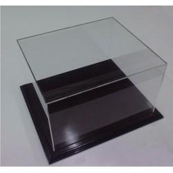 Προθήκη 20 Χ 20 Χ 20 από Ξύλο και Plexiglass-Πλεξιγκλας