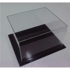 Προθήκη 25 Χ 25 Χ 25 από Ξύλο και Plexiglass-Πλεξιγκλας