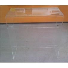 Τραπεζάκι 80 Χ 40 Χ 100 εκ. από Plexiglass-Πλεξιγκλας