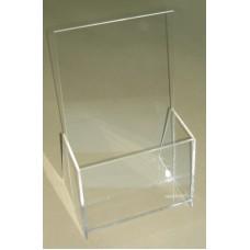 Α4 Προσπεκτοθήκη – Θήκη εντύπων απο Plexiglass-Πλεξιγκλας