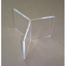 Θήκη εντύπων αστέρι A5 15Χ21 εκ. από Πλεξιγκλάς