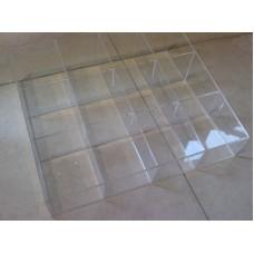 Κασετινα - Κουτι 12 θεσεων 40x35x10 απο Plexiglass - Πλεξιγκλας