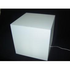 Κύβος Φωτιστικό 40 Χ 40Χ 40 εκ. από Plexiglass-Πλεξιγκλας
