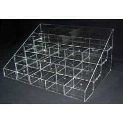10-3Γ : 60 x 37 x 25 εκ. Σταντ Πορτοφολιών Plexiglass-Πλεξιγκλας