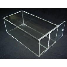Κουτι αποθηκευσης - προβολης προϊοντων 60x20x15 με συρόμενη πόρτα απο Plexiglass - Πλεξιγκλας