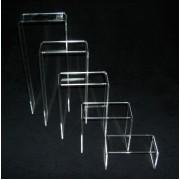 6-5Β : Υψος 10 εκ. Γεφυράκι από Plexiglass-Πλεξιγκλας