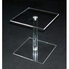 8-1Α-5 : ύψος 5εκ.Κολώνα από Plexiglass-Πλεξιγκλας