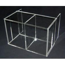 Προθήκη Μοντελισμού 34 Χ 21 Χ 14 με διπλή πόρτα από Plexiglass-Πλεξιγκλας
