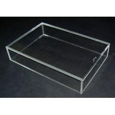Κουτί 30 Χ 20 Χ 5 εκ. με καπάκι συρταρωτό από Plexiglass-Πλεξιγκλας