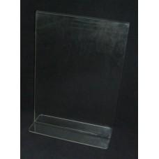 Α5 Ορθιο Προσπεκτοθήκη – Θήκη εντύπων απο Plexiglass-Πλεξιγκλας
