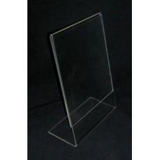 Λ Α5 15Χ21 εκ. Προσπεκτοθήκη – Θήκη εντύπων απο Plexiglass-Πλεξιγκλας