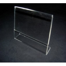 Ζ 12Χ12 εκ. Προσπεκτοθήκη – Θήκη εντύπων απο Plexiglass-Πλεξιγκλας