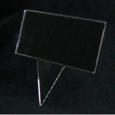 Θήκη εντύπων καρφωτή 14 x 7 εκ. από Πλεξιγκλάς
