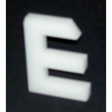 ΓΡ-03 Γράμματα από 8 χιλ Πλεξιγκλάς (Plexiglass)