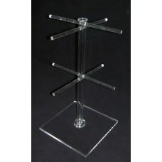 8-6-1 : ύψος 35 εκ. Κολώνα για κρεμαστά από Plexiglass-Πλεξιγκλας